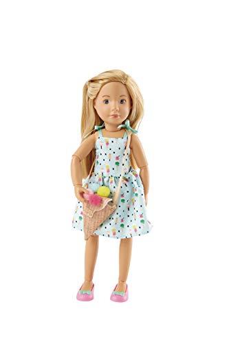 Käthe Kruse K0126872 K0126872-Vera Kruselings die Eiscremeliebhaberin, Puppe 23cm