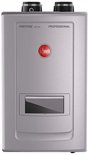 Rheem RTGH-RH10DVLN Prestige Series Professional Condensing Tankless Gas Water Heaters With Built-in...