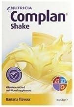 THREE PACKS of Complan Shake Banana Flavour 4 x 57g Sachets Estimated Price : £ 13,99