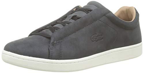 Lacoste Carnaby EVO Easy 319 1 SMA, Zapatillas para Hombre, Negro (Black/Offwhite 454), 45 EU