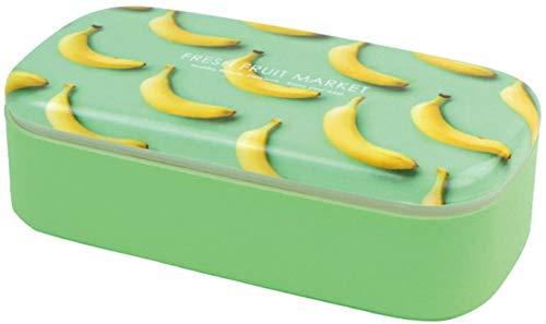 L'ABSURDE 日本製 お弁当箱 500ml フレッシュ フルーツ マーケット スクエア バナナ