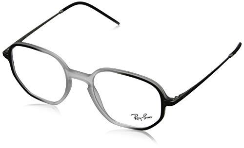 Ray-Ban 0RX7152 Monturas De Gafas, Transparente On Top Black, 50 Unisex