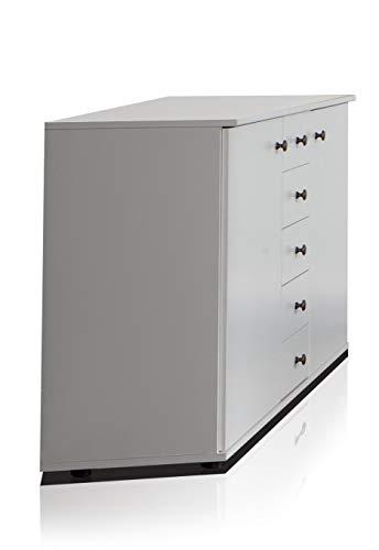 Wimex Kommode/ Kombikommode Chalet, 2 Türen, 5 Schubladen, (B/H/T) 130 x 82 x 38 cm, Weiß
