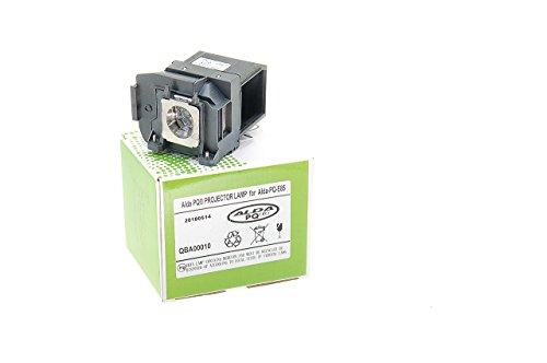 Alda PQ-Premium, Beamerlampe/Ersatzlampe für EPSON EH-TW6600, EH-TW6600W, HC3000, HC3500, HC3600E, EH-TW6700, EH-TW6800, HC3100, HC3700, HC3900 Projektoren, Lampe mit Gehäuse