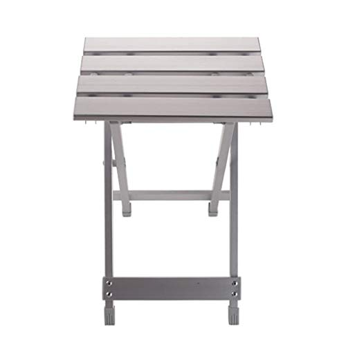 ZTTTD Silla plegable al aire libre mesa plegable simple hogar aleación de aluminio taburete de pesca plegable