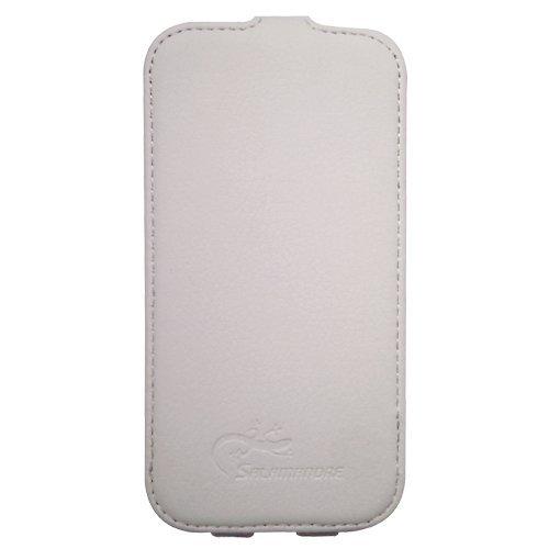 Omenex 688213 Schutzhülle für Samsung Galaxy S3, inklusive Bildschirmschutzfolie, Weiß, 1Stück