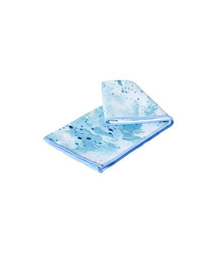 Manduka Splash Blue EQUA 16 - Toalla de mano para yoga, 1 EA