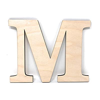 wood letters for wall decor