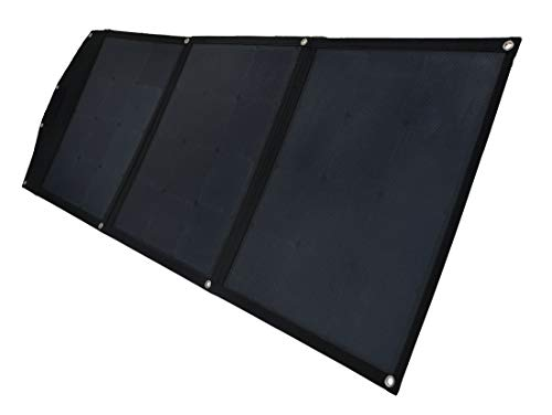 Prime Tech mobiles Solar-Panel faltbar 120WP MPPT-Regler für Blei-Akkus