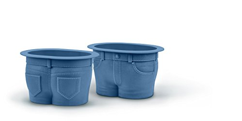Fred and Friends Backförmchen Muffin-Formen blau