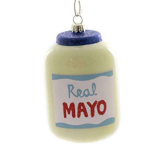 Holiday Ornaments Real Mayo Jar Mayonnaise Egg Spread Condiment Go2602