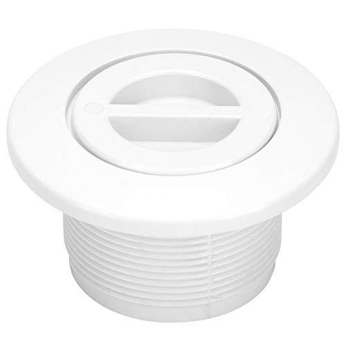 Kuuleyn Cubierta de Drenaje Principal de Piscina, 2 Pulgadas Salida de succión de Piscina Accesorios de vacío Equipo de Tratamiento de Agua de Piscina Accesorios para Piscina SPA Piscina