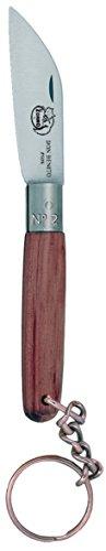 Imex El Zorro 51302-i – Couteau Coupe Droite, Couleur Marron, 5 cm