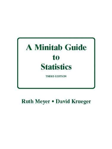 Minitab Guide to Statistics