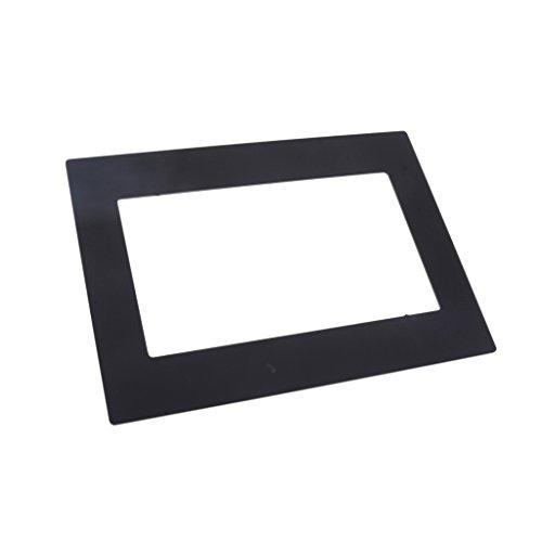 Sharplace Kit d'installation Cadre Panneau pour lecteur DVD Universel de Voiture 231x168mm