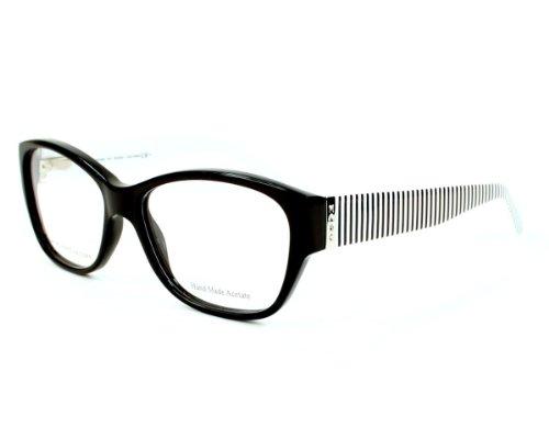 Marc By Marc Jacobs Women's 518 Black / White Stripes Frame Plastic...