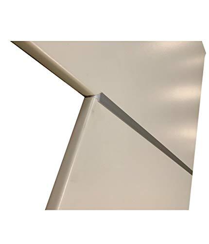 Küchen-Preisbombe Eckverbindungsschiene Aluminium 28 mm Arbeitsplatten Schiene für Eck Verbindung