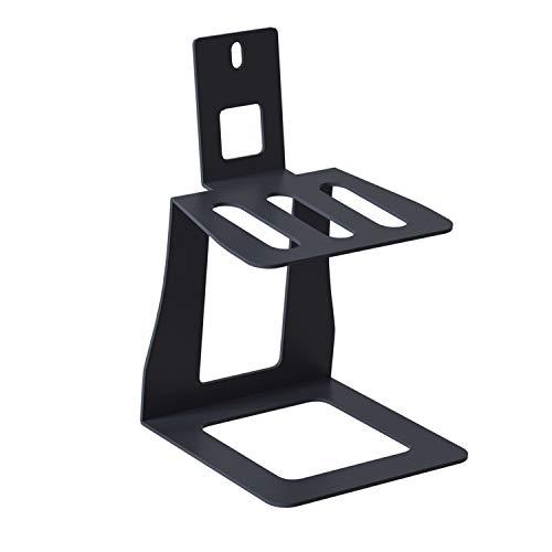 NSFKCED Desktop Speaker Stands for Logitech Z906 5.1 Surround Sound Speaker System, Special Designed Desk Table Stand Come with Screw, Black, Single