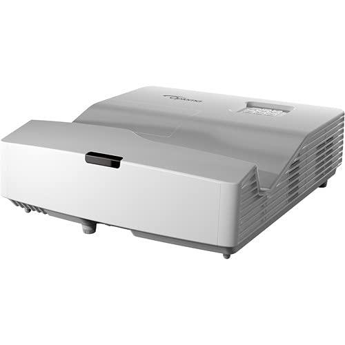 Optoma Technology EH340UST 4000-Lumen Full HD Ultra-Short Throw DLP Projector