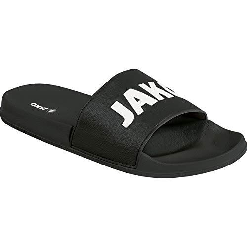JAKO Unisex Jakolette Classico Sandale, schwarz/weiß, 42 EU