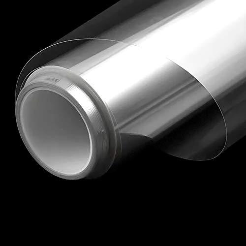 窓ガラスフィルム 透明 建築建物ガラスフィルム 厚さ0.05mm 可視光透過96% カット飛散防止フィルム 防災 地震 防災フィルム 窓 安全フィルム (2mil,90cm X3m)