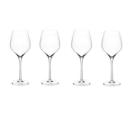 WYK Weingläser-Set, Kristallglas, bleifrei, für Rotwein, Dessert, Weißwein, Portweingläser, Kollektion Weihnachten, personalisierbar, groß