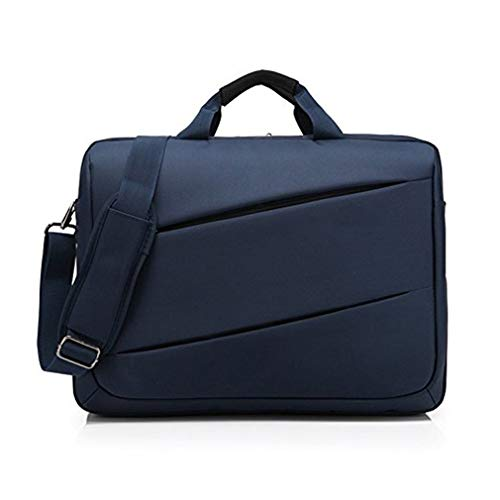 17.3 inch Laptop Bag Messenger Shoulder Bag Briefcase Handbag For HP Envy/HP Notebook 17, Dell Inspiron 17 / G3 G7 17 Gaming, Lenovo Legion, Asus VivoBook Pro 17, MSI GS75 Stealth (Blue)