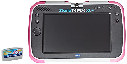 Vtech 80-194654 Storio MAX XL 2.0 Lerntablet Tablet für Kinder Kindertablet, Rosa, Deutsch Version