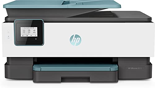 HP OfficeJet 8015 (A4) Colour Inkjet Wireless All-in-One Printer (Print/Copy/Scan) 256MB 2.2 inch LCD 18ppm (Mono) 10ppm (Colour), 46 x 34.12 x 23.4 cm