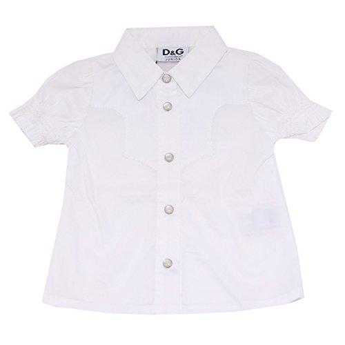 D&G 98247 camicia DOLCE&GABBANA MANICA CORTA COTONE camicie bimba shirt kids [6-9 MONTHS]