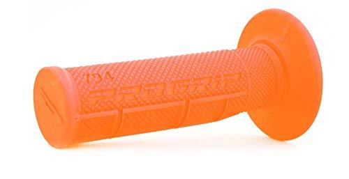 Pro Grip - Poignées Guidon Moto 794 - L115Mm - Orange Fluo - Diamètre 22/25Mm - Poignées Moto Cross Pit Bike 50Cc