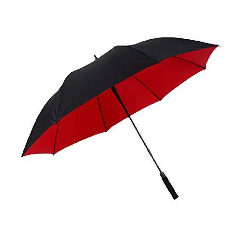 PZXY Regenschirm Doppelschicht-voll Faser automatische langem Schaft gerade bar überdimensionalen Sonnenschirm Regenschirm 101 * 130 * 150 cm Edelstahl