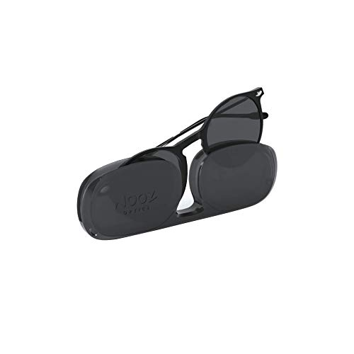 Nooz Gafas de sol polarizadas para hombre y mujer - Protección de categoría 3 - Color negro - con estuche compacto - Colección CRUZ