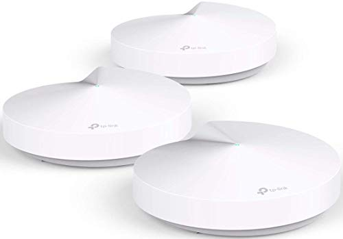 TP-Link Deco Whole Home Mesh WiFi System – Homecare Support, Seamless Roaming, Dynamic Backhaul, Adaptive Routing, Up to 5,500 sq. ft. Coverage (M5)