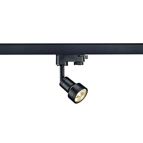 Preisvergleich Produktbild SLV PURI 3-Phasen Strahler Spot schwarz GU10 LED für Erco,  Staff,  Ivela Schienen
