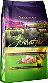 Zignature Guinea Fowl Dog Food, 4 lb. Bag. A...