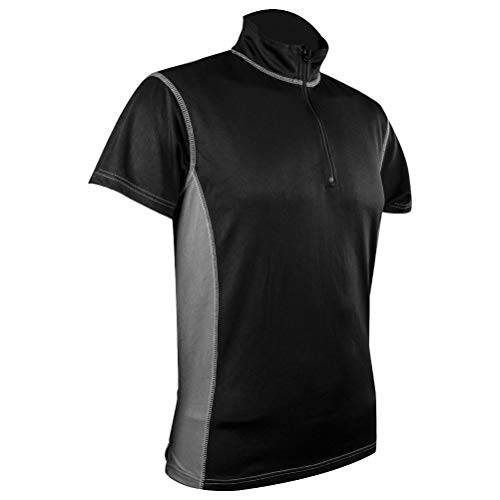 HIGHLANDER - T-Shirt Pro Tech Base Layer Col Zip pour Hommes