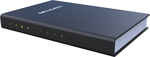 Tiptel TA400 10,100Mbit/s pasarel y Controlador - Punto de Acceso (Radius, TR - 069, UDP, TCP, TLS, SRTP, FTP, TFTP, HTTP, HTTPS, SSH, SIP (RFC3261), IAX2, OpenVPN, Static Nat, STUN)