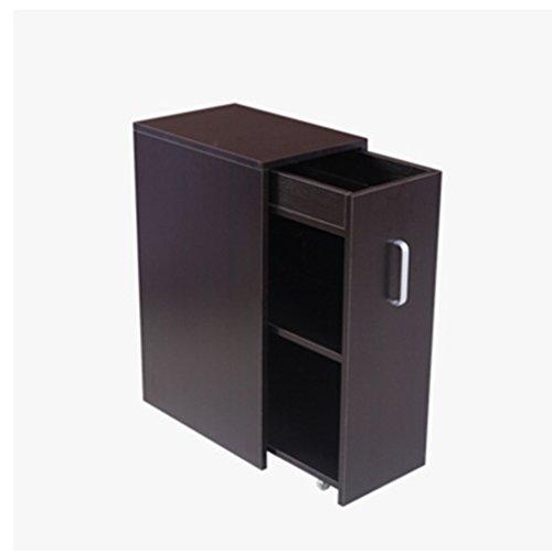 Chang Xiang Ya Shop Bookends Kleine boekenkast push en trek kleine boekenkast eenvoudige boekenkast opslag kast balkon locker kleine appartement locker