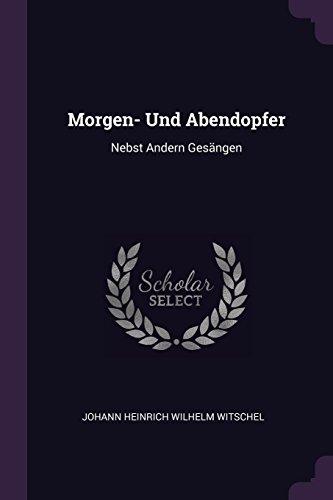 MORGEN- UND ABENDOPFER