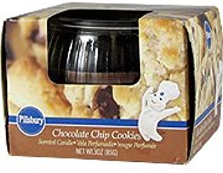 Chocolate Chip Cookies Candle - Scented Candle, 1 candle,(Pillsbury)