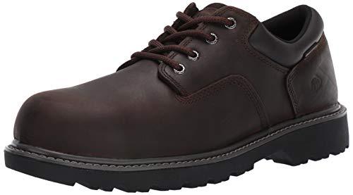 Wolverine Men's Floorhand Oxford Steel Toe Construction Shoe, Brown, 11 M US