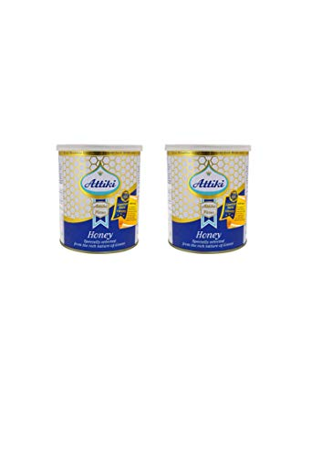 Attiki Greek Honey 1000g 22lb CAN 2 pack