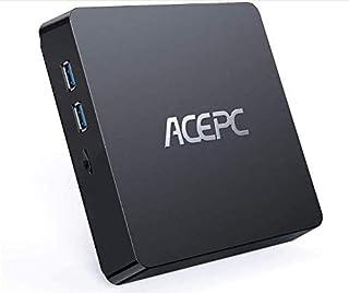 ACEPC T11 Mini PC, 8GB RAM+128GB ROM, Windows 10 Pro, Intel Atom Z8350,Soporta SSD/HDD de 2.5 Pulgadas, 4K HD/Dual WiFi/Bl...