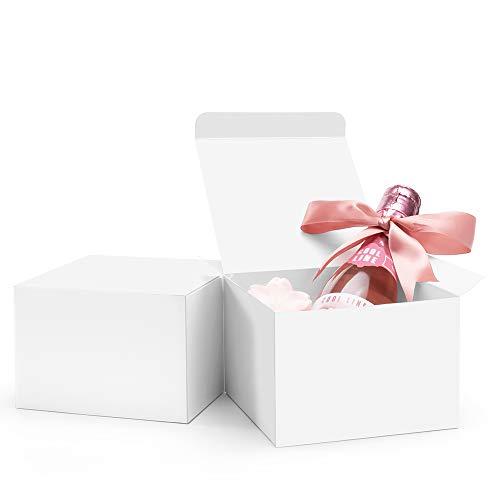 Valbox 20 Pack White Gift Boxes 5 X 5 X Buy Online In Grenada At Desertcart