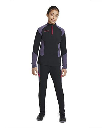 Nike Academy Sportanzüge Black/Black/Siren Red/Siren Re XL