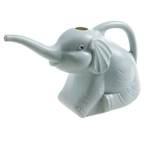 Rosepoem regadera, Botella de Agua de jardinería, regadera de plástico portátil con Forma de Elefante