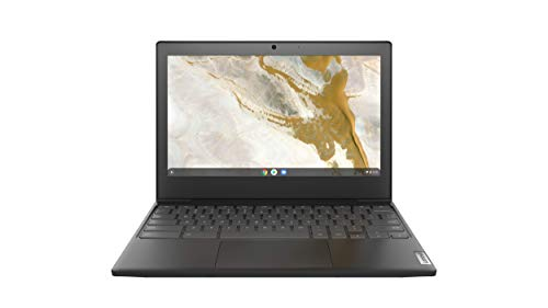 Lenovo IdeaPad 3 Chromebook Notebook, Display 11.6' HD, Processore Intel Celeron N4000, 32GB eMMC, 4GB RAM, Chrome OS, Onyx Black