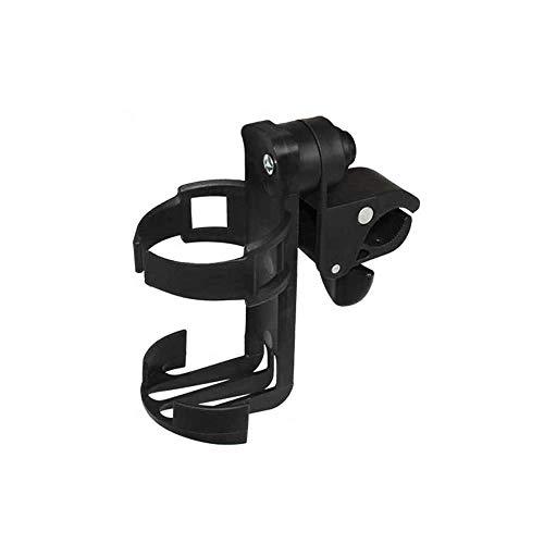 (エーアンドアイ)ドリンクホルダー 自転車 ペットボトルホルダー 360度回転 ベビーカー 紙コップ 便利 K150(1つ ブラック)