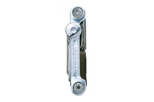 Topeak Mini 20 Pro 15400166 - Herramienta multiusos (con 20 herramientas, aluminio) plata plata